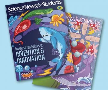 ScienceNews Magazine Wraps