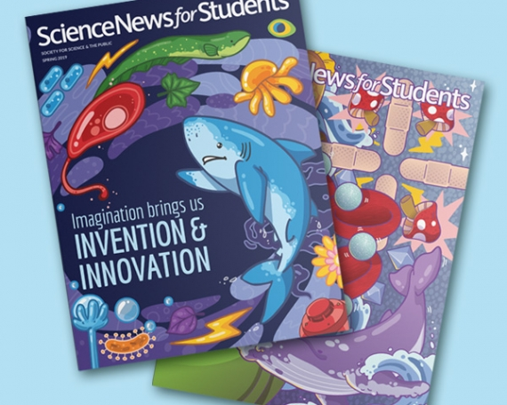 ScienceNews Magazine Wraps