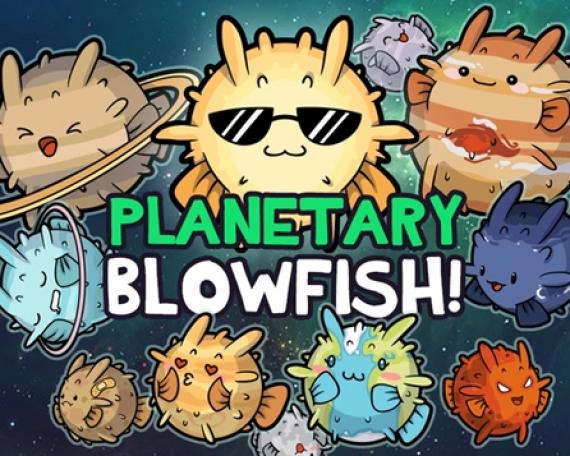 Planetary Blowfish Kickstarter Assets